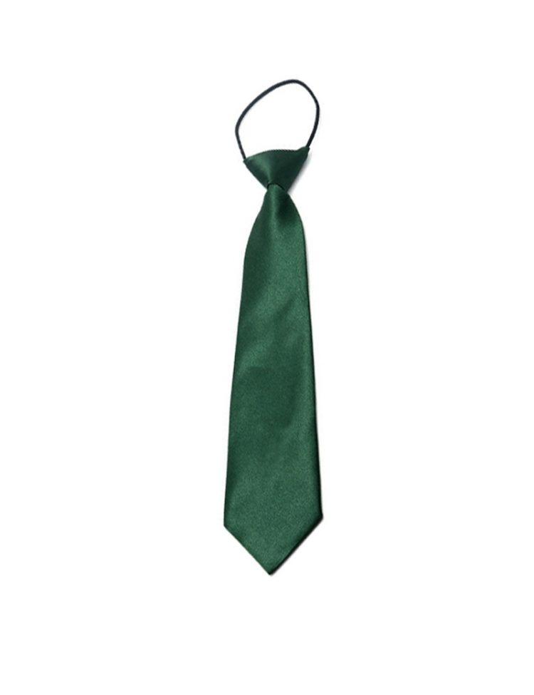 Donker groene stropdas voor kinderen