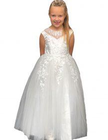 ivoor kleurige communie jurk anneke