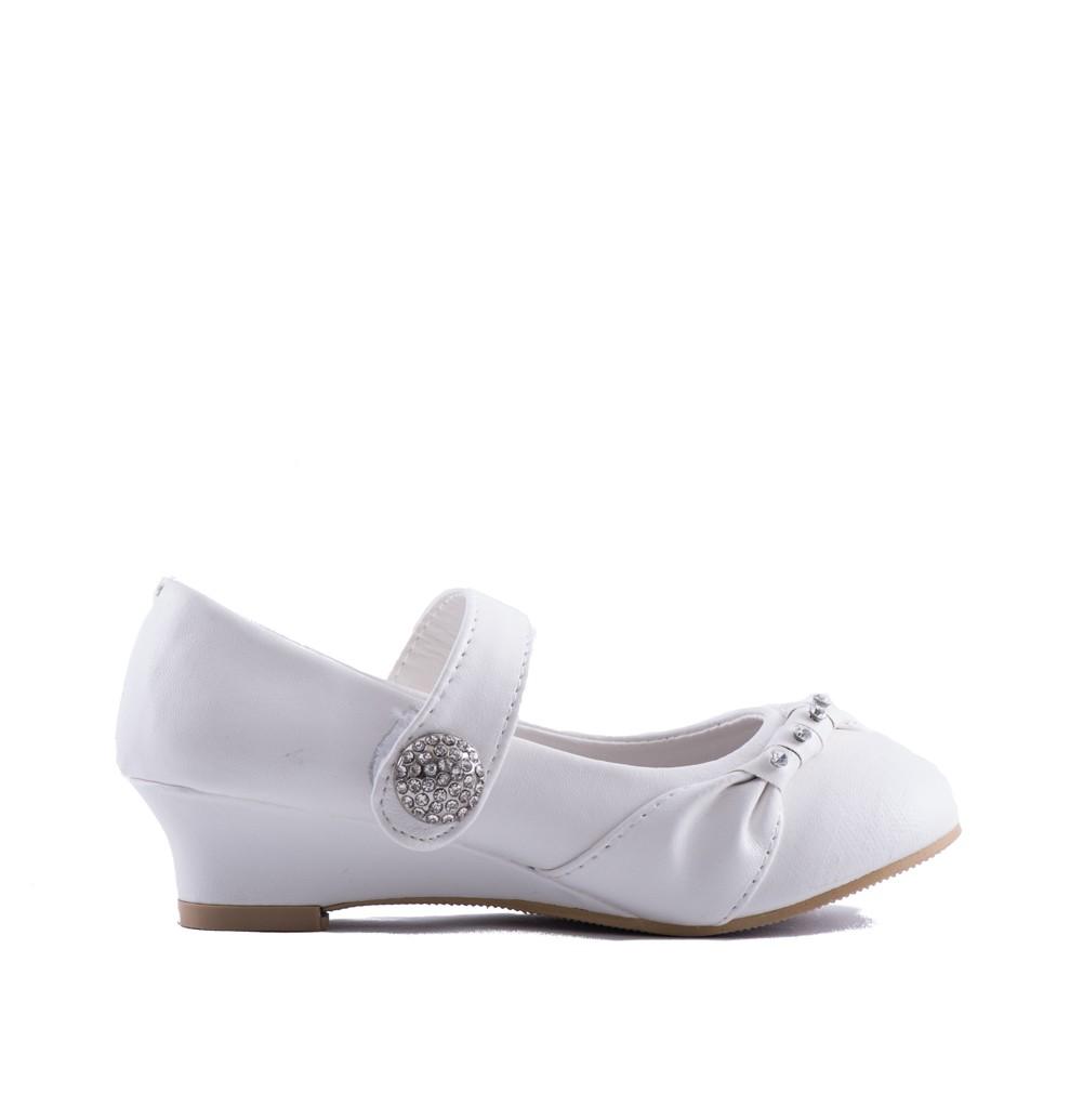 Bruidsmeisjes schoenen diamant met sleehakken