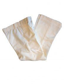 pantalon broek voor kinderen in de kleur ivoor