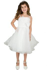 Bruidsmeisjes jurk Esmee met een wijde tule rok