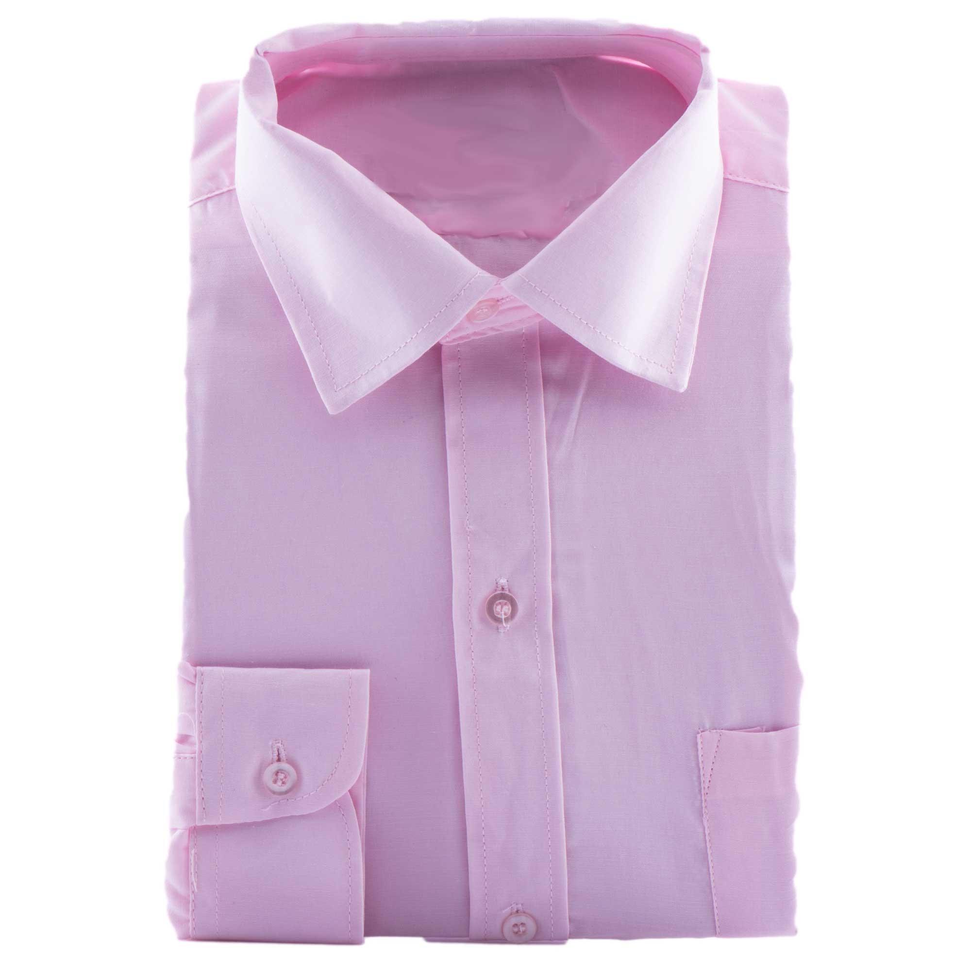Bruidsjonkers overhemd in de kleur roze