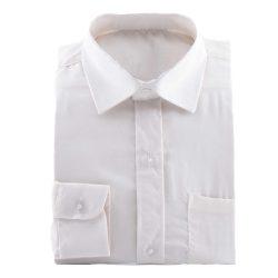 bruidsjonkers ivoor kleurig overhemd