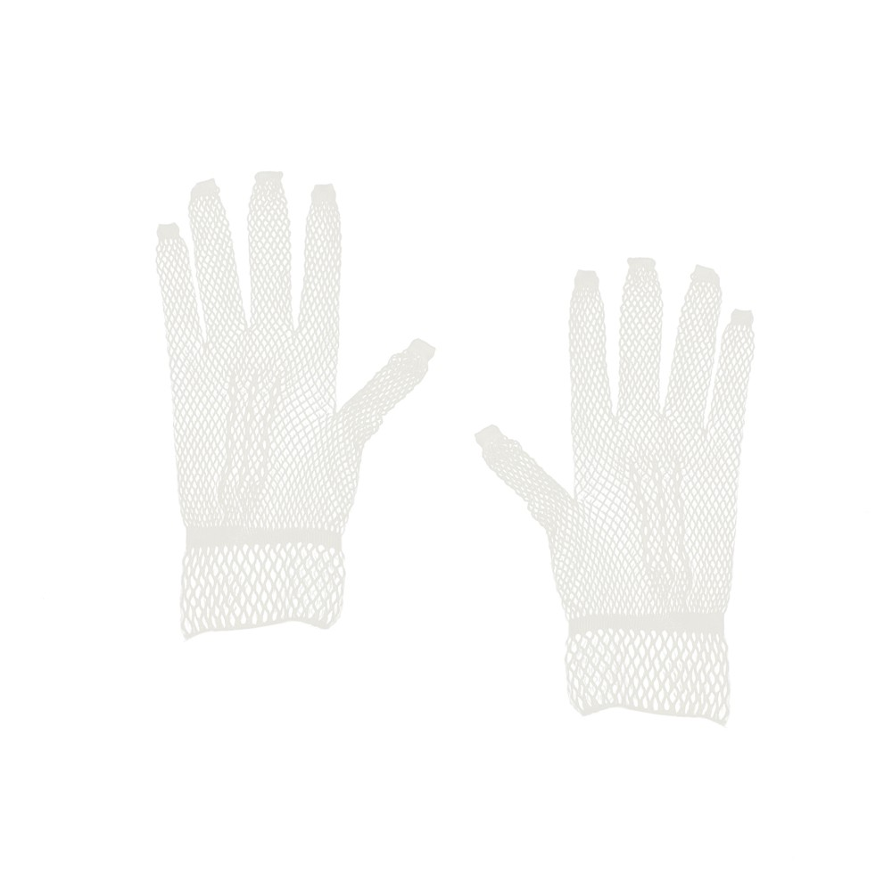 doorzichtige bruidsmeisjes handschoenen van gaas gemaakt
