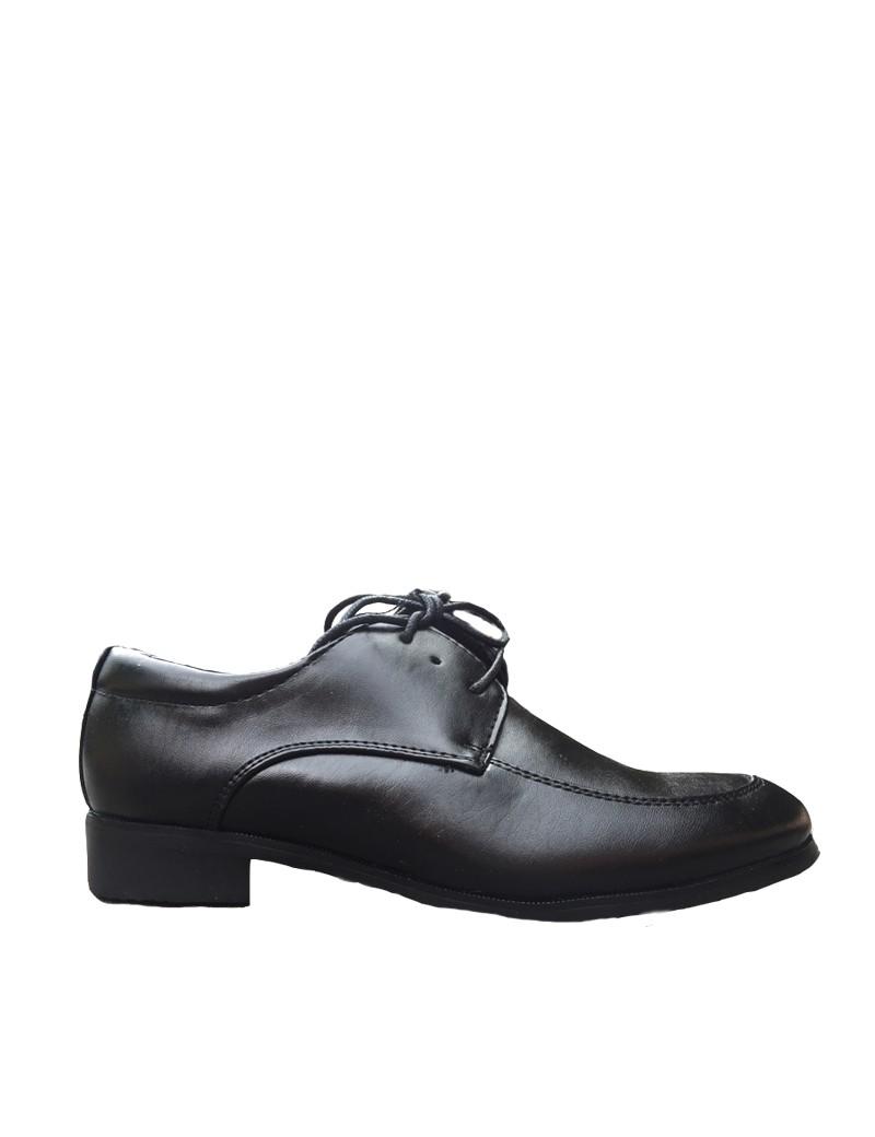 zijkant bruidsjonkers schoen zwart