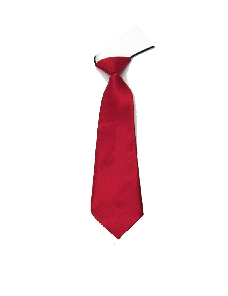 Bruidsjonkers stropdas in de kleur bordeaux
