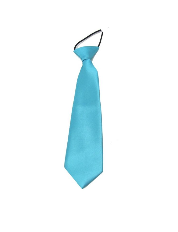 kinder stropdas in de kleur turquoise