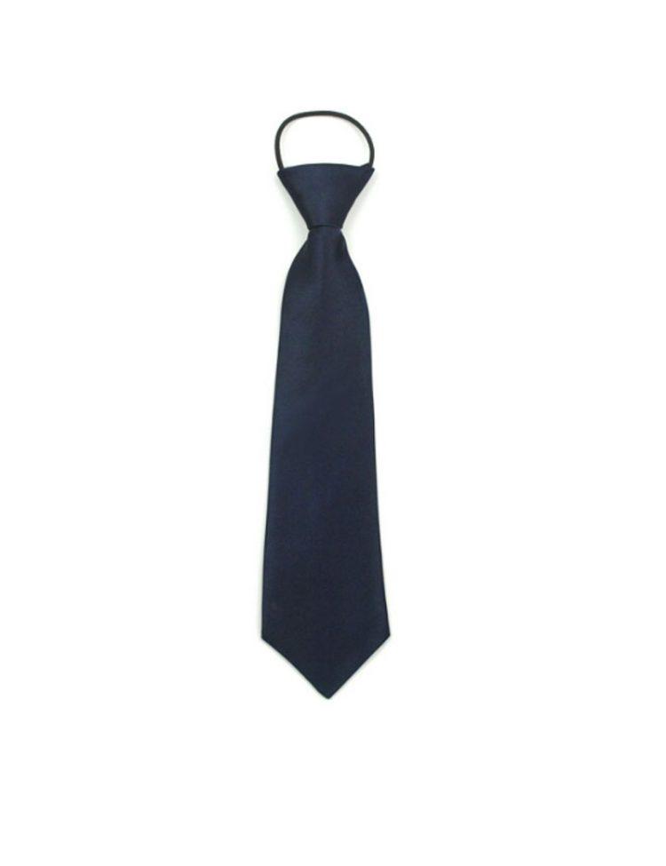 bruidsjonker stropdas in de kleur donker blauw