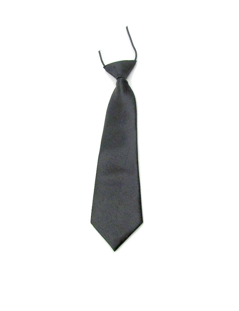 kinder stropdas in de kleur zwart
