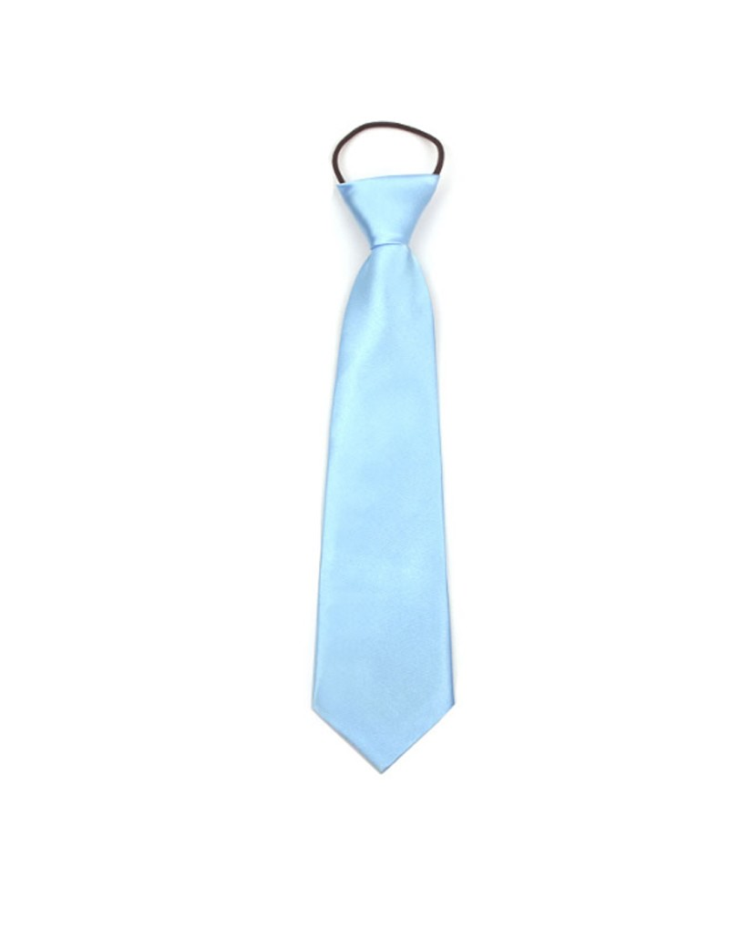 Bruidsjonkers stropdas in de kleur licht blauw