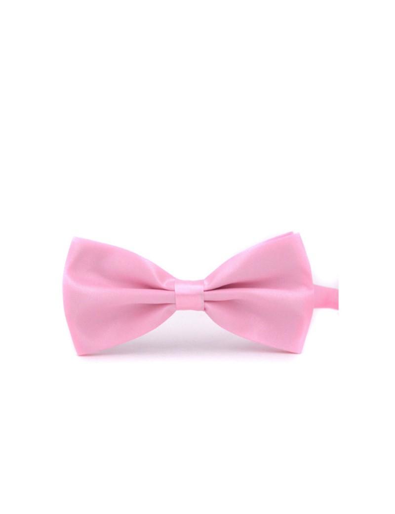vlinderstrikje in baby roze