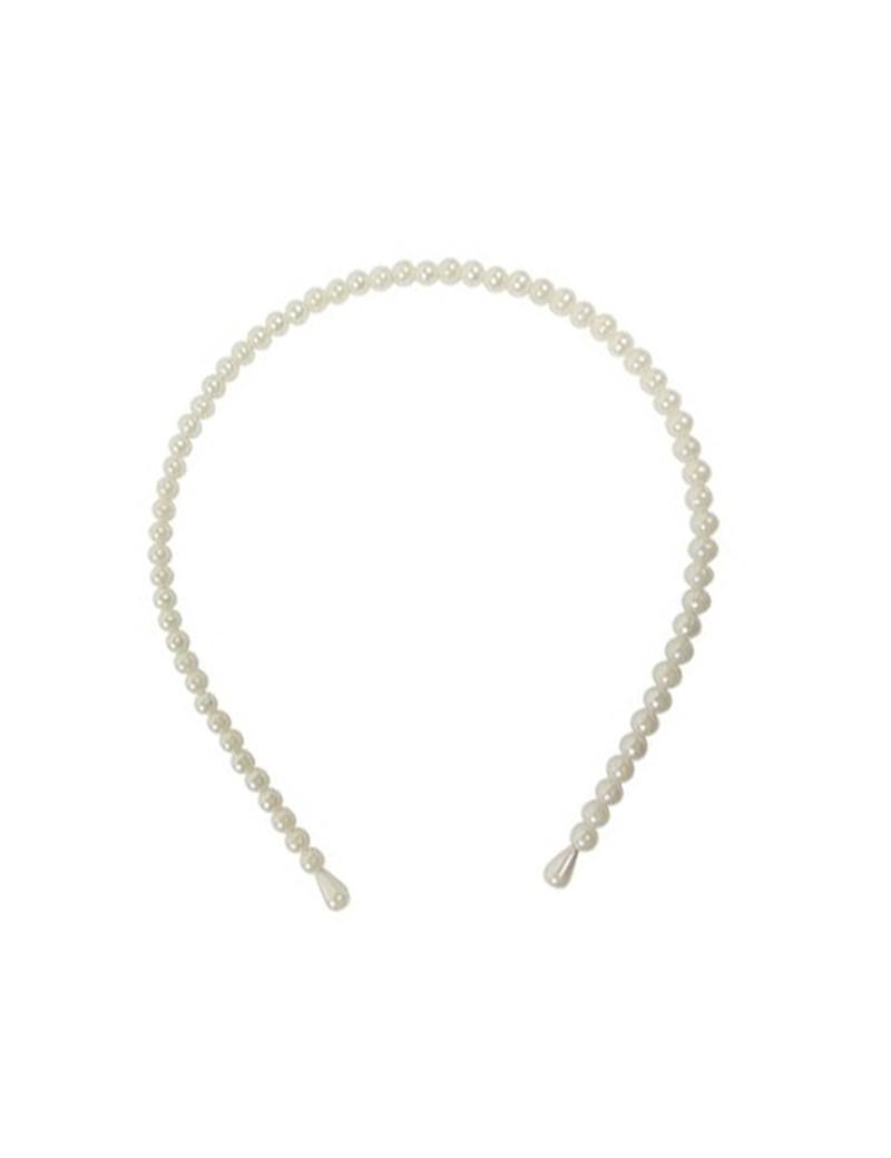 haarband van parels