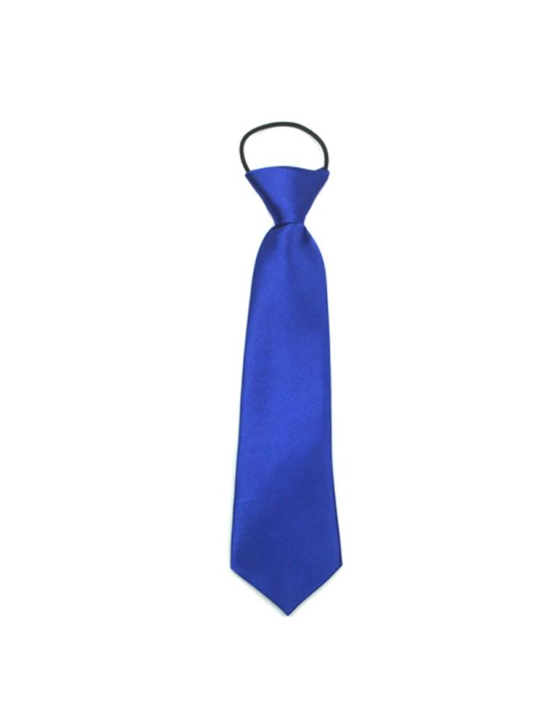 blauwe kinder stropdas