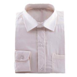 ivoor kleurig overhemd voor bruidsjonkers