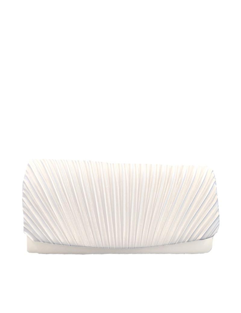 ivoor kleurig hand tasje voor bruidsmeisjes