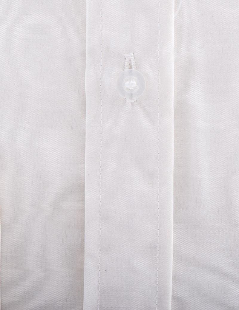Bruidsjonkers overhemd in de kleur Ivoor close up