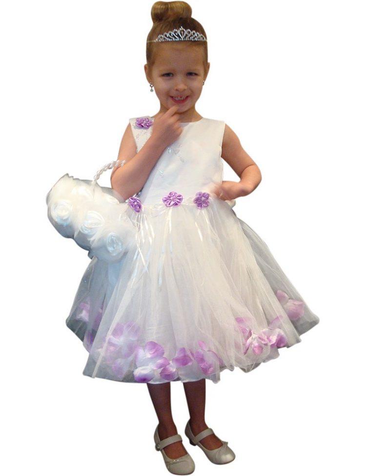 Bruidsmeisjes jurk Tess met tule rok tot op de knie