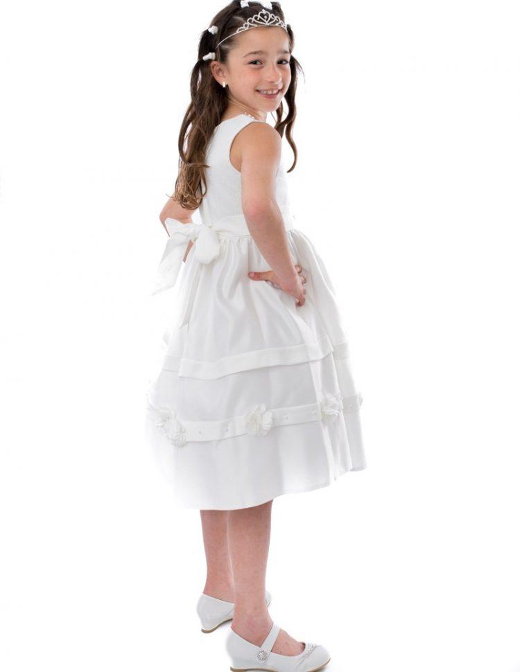 Bruidsmeisjes jurk Isabel zijaanzicht