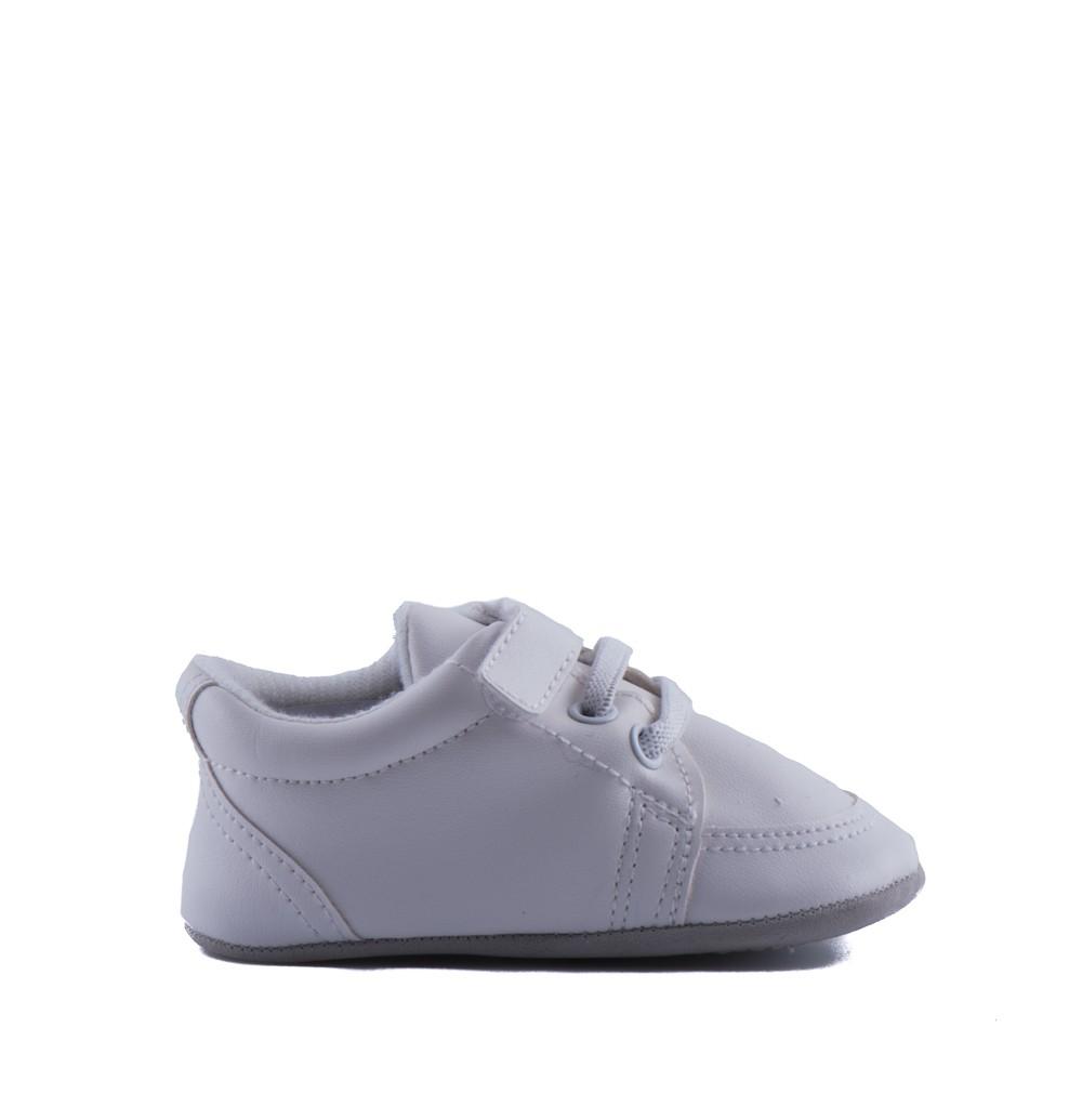 Bruidsjonkersschoen Baby in de kleur off white