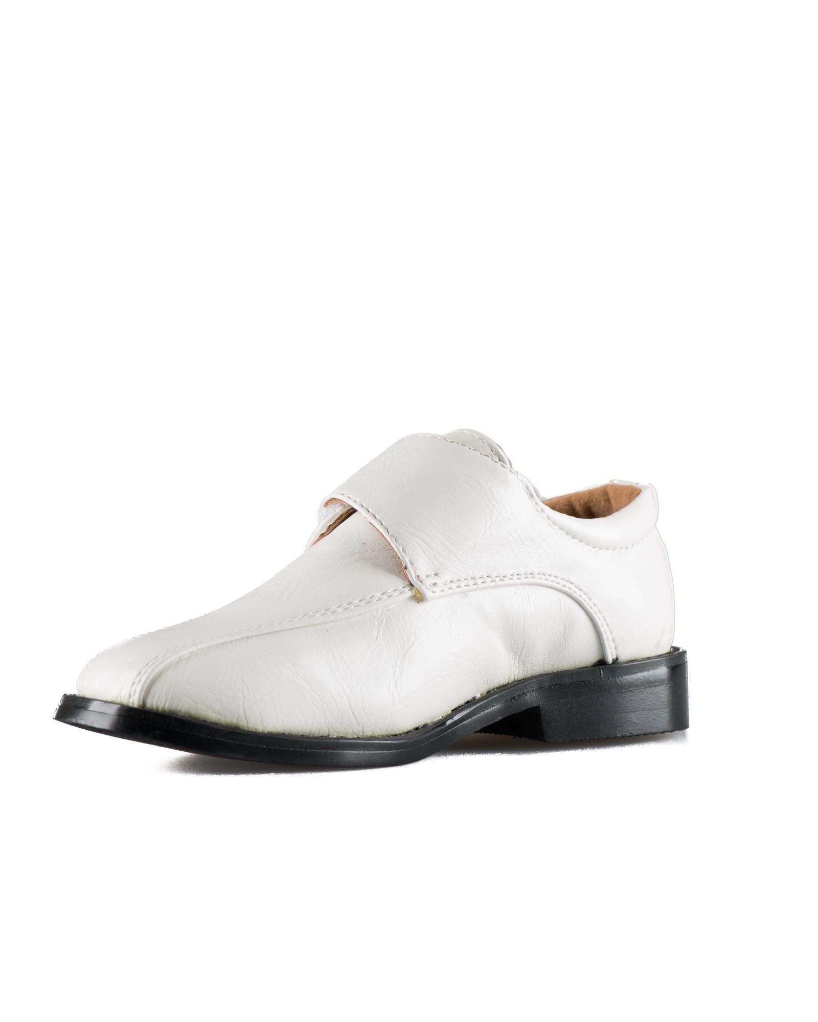 bruidsjonker schoenen met klittenband
