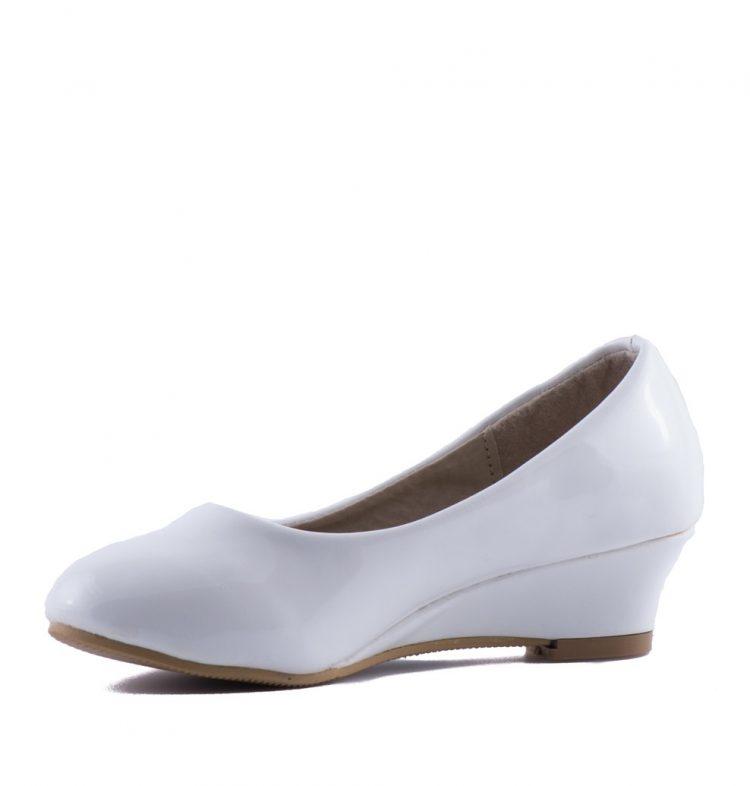 Bruidsmeisjes schoenen Diva heeft een sleehak
