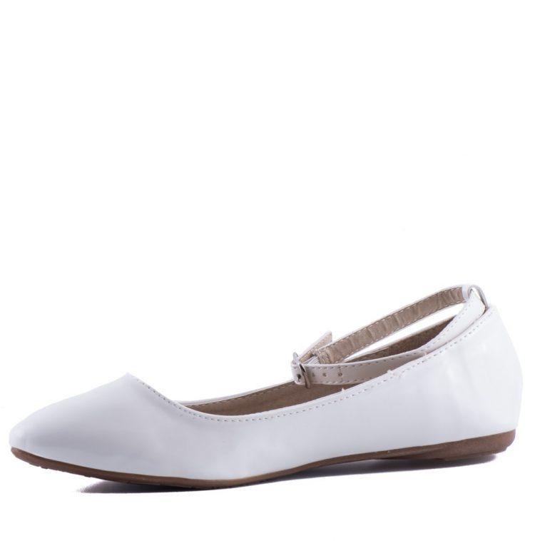 bruidsmeisjes schoenen rosa ballerina model