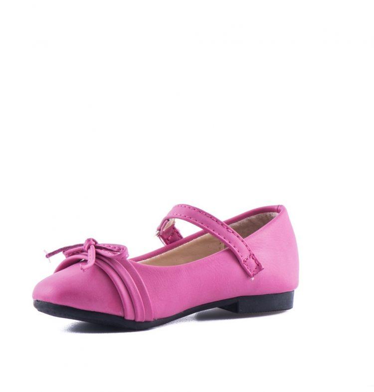 Bruidsmeisjes babyschoen in de kleur roze