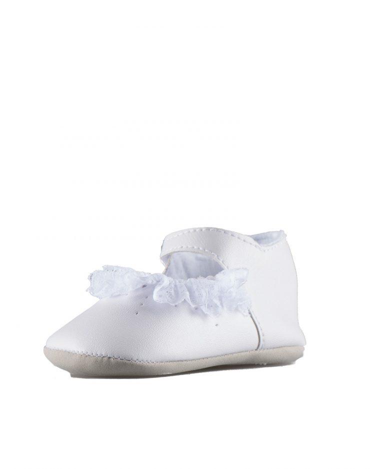 Bruidsmeisjes schoen baby love in de kleur off white