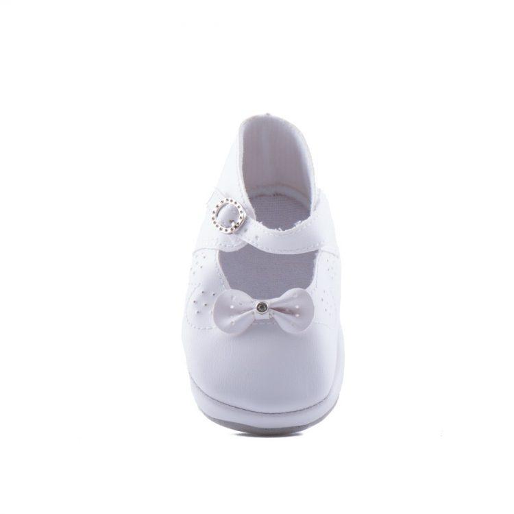 Voorkant Bruidsmeisjes schoenen Baby Strik