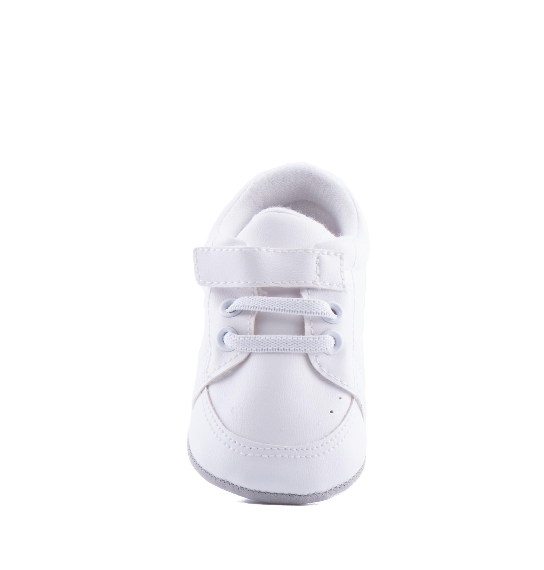 Bruidsjonkersschoentjes Baby met een veter en een klittenband sluiting