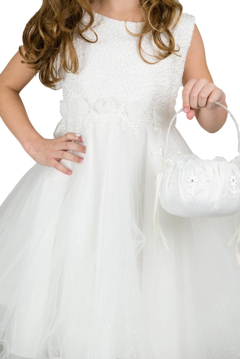 Bruidsmeisjesjurk Linda met een glitter tule rok
