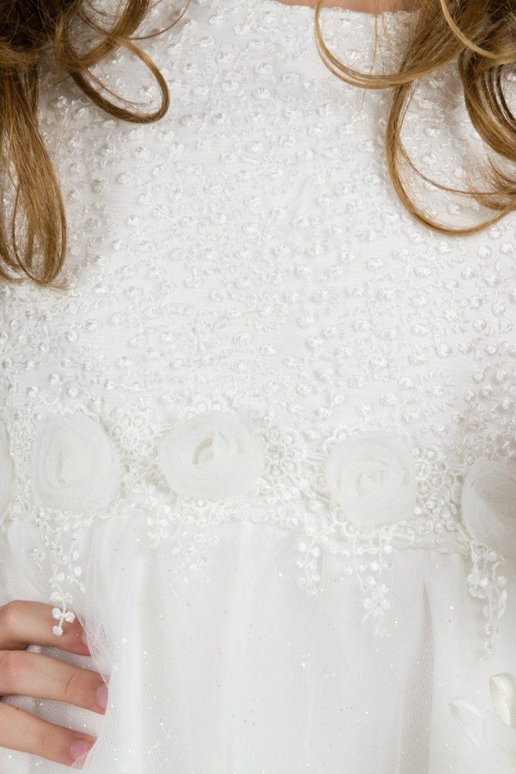 bovenlijfje bruidsmeisjes jurk Linda met roosjes