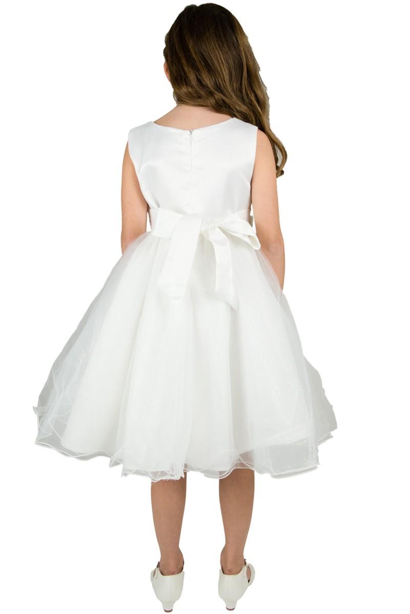 achterkant Bruidsmeisjes jurk Linda