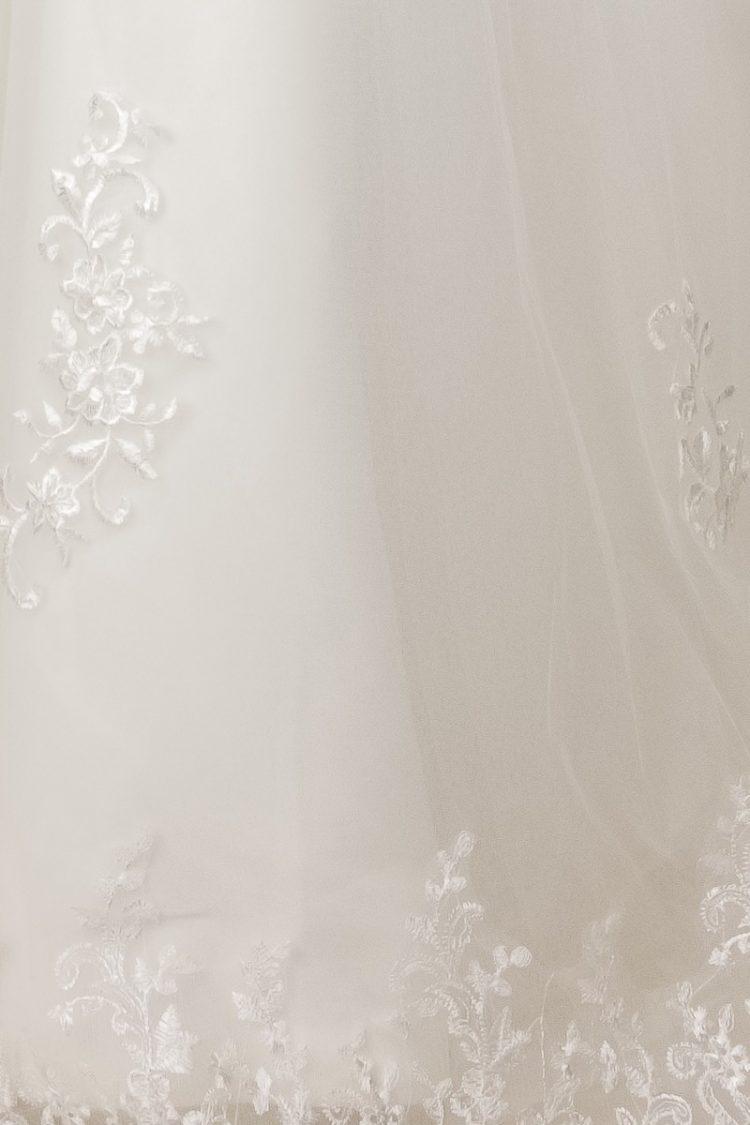 onder kant rok jurk Lynn met kant
