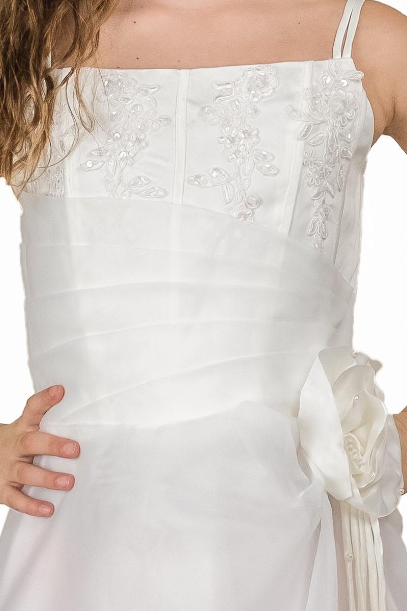 Top jurk Rianne met spaghetti bandjes