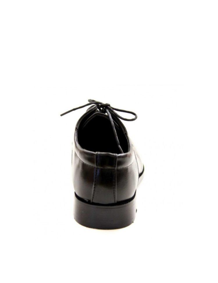achterkant bruidsjonkers schoen zwart