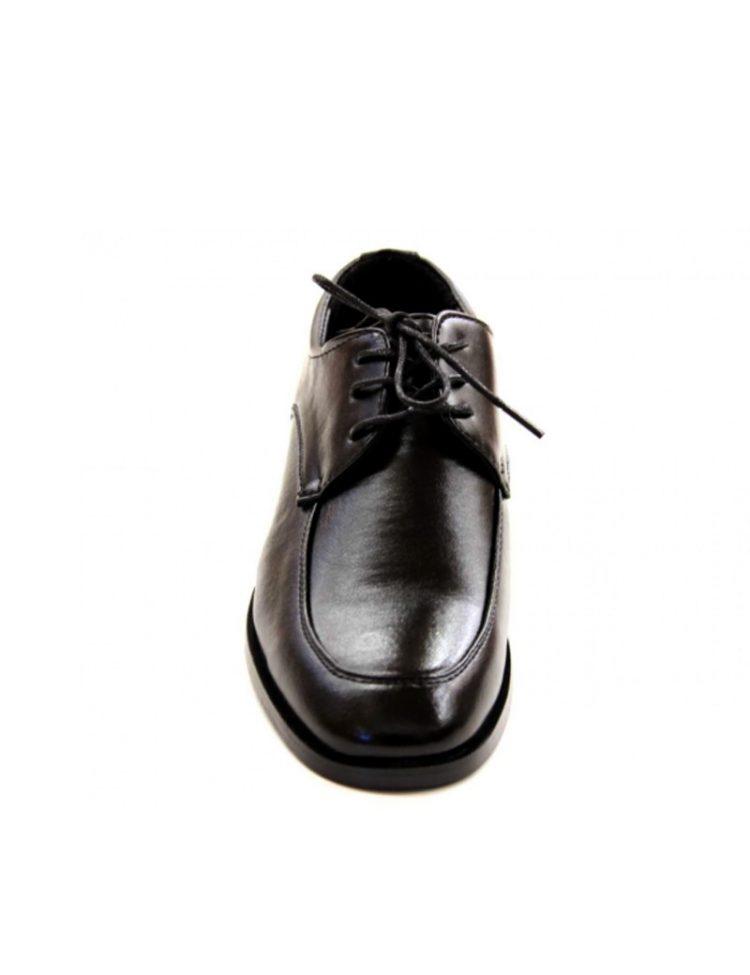 voorkant bruidsjonkers schoen zwart