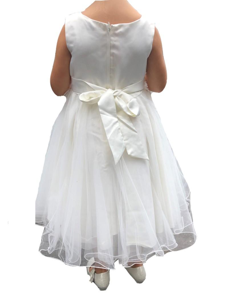 achterkant jurk met strik